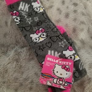 Other - 2 pair of precious hello Kitty socks!